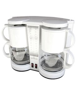 Gevalia Dual 12-cup Coffeemaker - Free Shipping Today - Overstock.com - 11160616