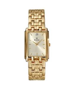 e8b906061 Shop Bulova Men's Goldtone Stainless Steel Quartz Watch - Free Shipping  Today - Overstock - 3037360