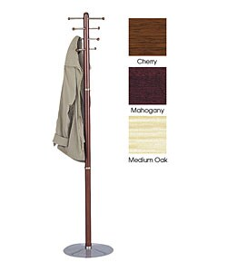 Safco Wooden Coat Rack (2 options available)
