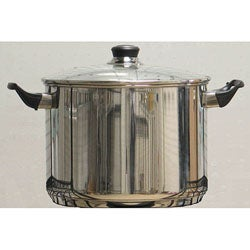 Stainless Steel 8-quart Covered Stockpot