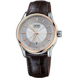 Oris Artelier Date Men's Two-tone Watch