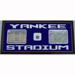 Yankee Stadium Photos w/ Locker Room Carpet