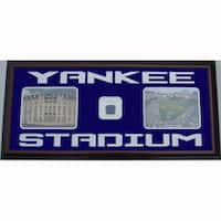 Yankee Stadium Photos w/ Locker Room Carpet