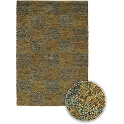 Hand-knotted Contemporary Majesta Rug (5' x 8') - multi - Thumbnail 0