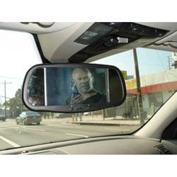 Thumbnail 1, 7-inch Video Rearview Mirror with Bluetooth.
