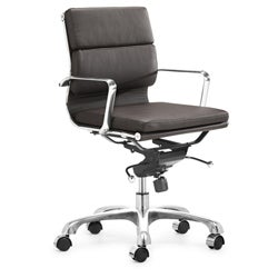 Shop Milan Espresso Office Chair - Free Shipping Today - Overstock - 3097412