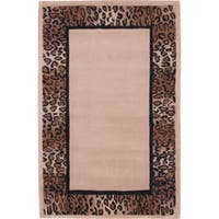 Nourison Hand-tufted Radiance Beige Wool Rug (2' x 3')