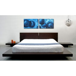 Fujian Queen-size Platform Bed