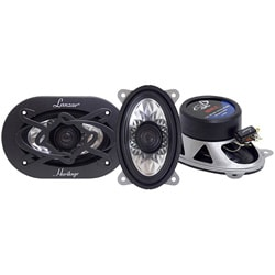Lanzar One Pair 4 x 6 Two-way Coaxial Car Speakers