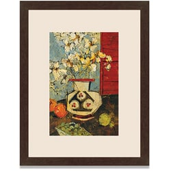 Gallery Direct Maxweller 'Still Life with White Flowers' Framed Art Print