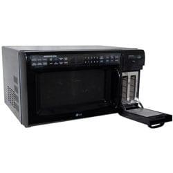Shop Lg Black 1200 Watt Microwave Oven Toaster Combo