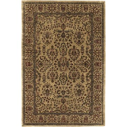 Artist's Loom Hand-tufted Traditional Oriental Wool Rug (5'x7'6)