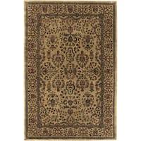 Artist's Loom Hand-tufted Traditional Oriental Wool Rug (5'x7'6) - multi