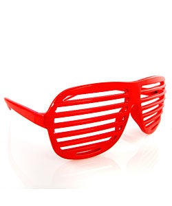 Shutter Shades Red Sunglasses