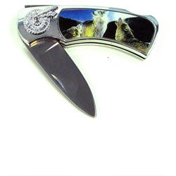 Wolf Lockback Collectors Pocket Knife in Box - Thumbnail 0
