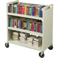 Balt Double-sided Book Cart - Thumbnail 0