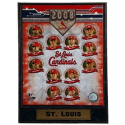 STL Cardinals '08 Collectible Photo Plaque
