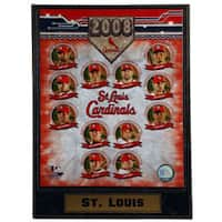 STL Cardinals '08 Collectible Photo Plaque