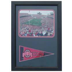 Ohio State Buckeyes Pennant 12x18 Sports Plaque - Thumbnail 0