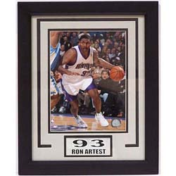 Ron Artest 11x14-inch Deluxe Frame