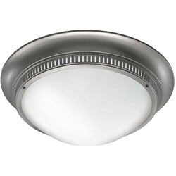 Brushed Nickel Flush Mount Ceiling Fixture