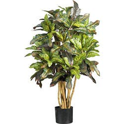 Silk Croton 3-foot Tree|https://ak1.ostkcdn.com/images/products/3/P11351745.jpg?impolicy=medium