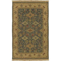 Hand-knotted Sangli Collection Wool Area Rug (9' x 12')