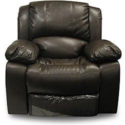 Thumbnail 1, Bridgeport Bonded Leather 'Motion' Recliner Chair.