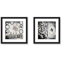 Gallery Direct Judy Paul 'Ghost City' 2-piece Framed Art Set