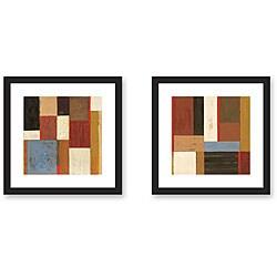 Gallery Direct Phoenix 'Notebook' 2-piece Framed Art Print Set