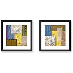 Gallery Direct Sean Jacobs 'Abstracted Season' Framed Art Set