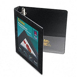 Avery 1-Inch Framed Presentation EZD Locking Black View Binder