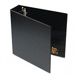 Avery 2-Inch Heavy-Duty Vinyl EZD Ring Reference Binder in Black