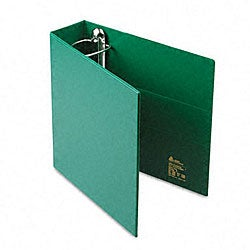 Avery 3-Inch Heavy-Duty Green Vinyl EZD Ring Reference Binder