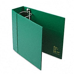 Avery 4-inch Heavy-Duty Green Vinyl EZD Ring Reference Binder