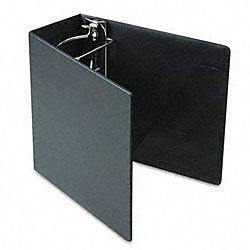 Recycled Heavy-Weight Black 5-Inch Slant-D Ring Binder