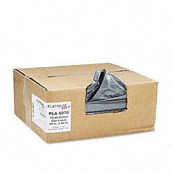 Platinum Plus 55-60 Gallon Super Extra-Heavy Can Liners (Case of 50)