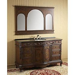 Shop ica furniture rosalie bathroom vanity and mirror - Bathroom vanity and mirror combo ...
