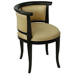 Isabella Butter and Espresso Chair