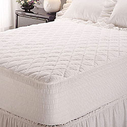 shop perfect fit classic extra long twin mattress pad free shipping on orders over 45. Black Bedroom Furniture Sets. Home Design Ideas
