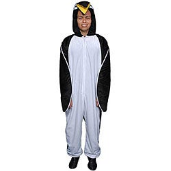 Adult Penguin Jumpsuit Costume