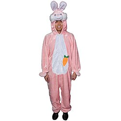 Adult Pink Easter Bunny Costume