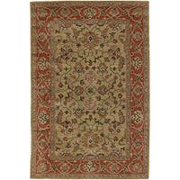 Artist's Loom Hand-tufted Traditional Oriental Wool Rug - multi - 5' x 7'6