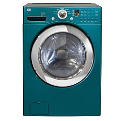 Thumbnail 1, LG 4-cubic-foot Turquoise Front-load Washer.