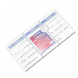 At-A-Glance 14-month Horizontal Format Reference Calendar