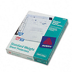 Avery Easy-load Semi-clear Sheet Protectors (Pack of 100)