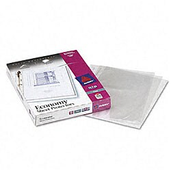 Avery Top Loading Poly Sheet Protectors (Pack of 100)