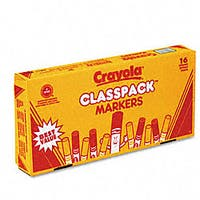 Broad Line Classpack Non-washable Markers