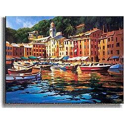 Michael O'Toole 'Portofino Colors' Canvas Art