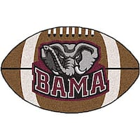Fanmats NCAA University of Alabama Football Area Rug